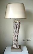 Strandholzlampe
