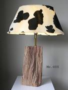 Kuhfell Lampe