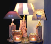 Holzlampen