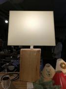 Naturholzlampe